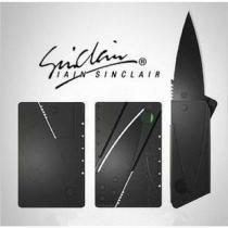 Canivete Modelo Cartão Crédito Dobrável Em Aço - Rpc