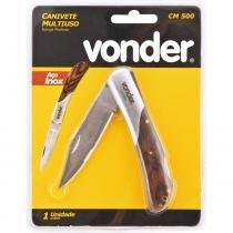 Canivete multiuso 150mm inox cm500 - Vonder - Vonder