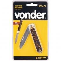 Canivete multiuso 175mm inox cm175 - Vonder - Vonder