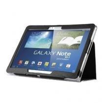 """Capa Agenda Magnética Para Tablet Samsung Galaxy Note 10.1"""" (2014) SM-P600 / P601 / P605 + Película de Vidro - Lka"""