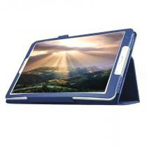 "Capa Agenda Para Tablet Samsung Galaxy Tab E 9.6"" SM-T560 / T561 / P560 / P561 + Película de Vidro - Lka"