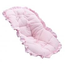 Capa Bebê Conforto Glad Baby Listra Rosa -