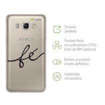 Capa Capinha Case para Samsung J7Metal - Fé - 99capas