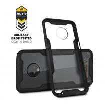 Capa Case Capinha Dual Shock para Motorola Moto Z3 Play - Gorila Shield -