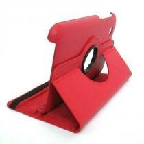 Capa Case Couro para Galaxy N8000 - Giratória 360 (Vermelho) - BD Net Imports