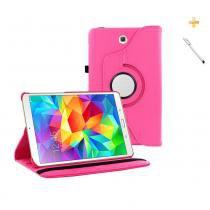 Capa Case Galaxy Tab A - 9.7 P550 / P555 Giratória 360 / Caneta Touch (Pink) - BD Net Imports