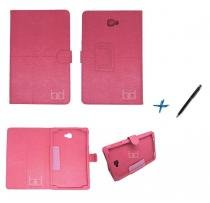 Capa Case Galaxy Tab A Note - 10.1 P580 / P585 Carteira / Caneta Touch (Pink) - BD Net Imports