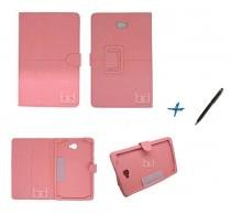 Capa Case Galaxy Tab A Note - 10.1 P580 / P585 Carteira / Caneta Touch (Rosa) - Bd net imports