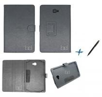 Capa Case Galaxy Tab A Note - 10.1 T580 Carteira / Caneta Touch (Preto) - Bd net imports