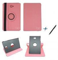 Capa Case Galaxy Tab A Note - 10.1 T580 / T585 Giratória / Caneta Touch (Rosa) - BD Net Imports