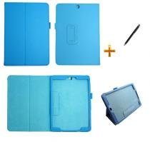 Capa Case Galaxy Tab S2 - 9.7 T810/T815 Carteira / Caneta Touch (Azul) - BD Net Imports