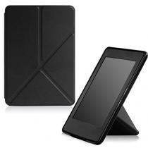 Capa Case Kindle 8a Geração WB Auto Liga/Desliga - Origami Preta -