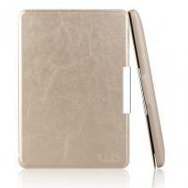 Capa Case Kindle Paperwhite WB Auto Liga/Desliga - Couro Premium Gold -