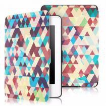 Capa Case Kindle Paperwhite WB Auto Liga/Desliga - Ultra Leve Geométrico -