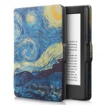 Capa Case Kindle Paperwhite WB Auto Liga/Desliga - Ultra Leve Van Gogh -