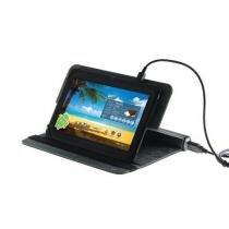 Capa case para tablet de 7 polegadas com bateria de emergencia 0591 leadership -