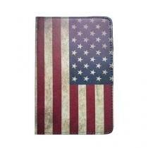 Capa case para tablet de 7 polegadas universal bandeira estados unidos - Importado
