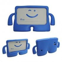 "Capa Case Protetor Infantil Anti-Choque/Impacto Galaxy Tab E T113/T115/T116 7"" (Azul) - BD Net Imports"