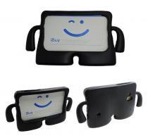 """Capa Case Protetor Infantil Anti-Choque/Impacto Galaxy Tab E T113/T115/T116 7"""" (Preto) - Skin t18"""