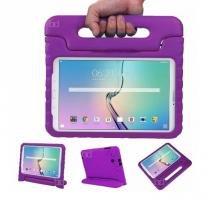 "Capa Case Protetor Infantil Anti-Choque/Impacto Galaxy Tab S2 T810/T815 9,7"" BD NET (Roxo) - BD Net Imports"