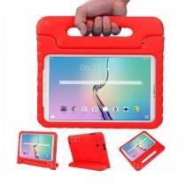 "Capa Case Protetor Infantil Anti-Choque/Impacto Galaxy Tab S2 T810/T815 9,7"" BD NET (Vermelho) - BD Net Imports"