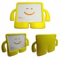 Capa Case Protetor Infantil Anti-Choque/Impacto iPad 2/3/4 (Amarelo) - Bd net imports