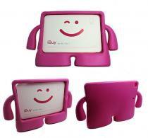 Capa Case Protetor Infantil Anti-Choque/Impacto iPad Air 1/2 (iPad 5/6) (Pink) - Skin t18