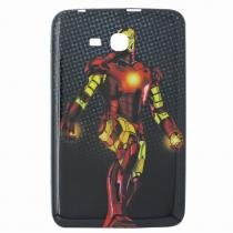 Capa Case TPU Galaxy Tab 3 Lite - 7 T110 - Iron Man (BD01) - BD Net Imports
