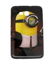 Capa Case TPU Galaxy Tab 3 Lite- 7 T110 - Minions (BD04) - BD Net Imports