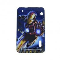 Capa Case TPU Tablet - 7 Navcity/CCE/Multilaser/Philco/DL/Acer - Iron Man (BD01) - BD Net Imports