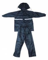 Capa de chuva para motoqueiro motoboy moto impermeavel azul g (trc7280) - Top rio