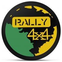 Capa de Estepe Universal Aro 13 14 15 Rally 4x4 Preto Amarelo e Verde Com Cadeado - Splody