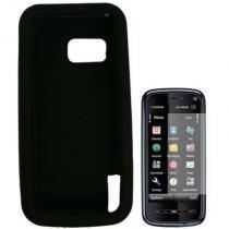 Capa De Silicone Samsung Galaxy 3 I5800 Preto - Samsung