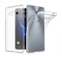 Capa de silicone TPU transparente para celular Samsung J7 Prime - H maston