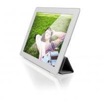 Capa E Suporte Para Ipad Multilaser Smart Cover Magnética Branco - BO162 - Multilaser