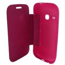Capa Flip Cover Samsung Galaxy Young Rosa - Idea - Idea