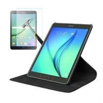 "Capa Giratória Inclinável Para Tablet Samsung Galaxy Tab S2 9.7"" SM-T810 / T813 / T815 / T819 + Película de Vidro - Lka"