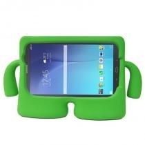 "Capa Infantil Bonequinho Iguy Tablet Samsung Tab E 9.6"" SM-T560 / T561 / P560 / P561 - Lka"