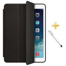 Capa iPad Air Smart Case / Capa Traseira / Caneta Touch (Cor Preto) - Skin t18