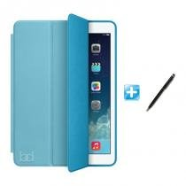 "Capa iPad Pro 10,5"" Smart Case / Capa Traseira / Caneta Touch (Cor Azul) - BD Net Imports"