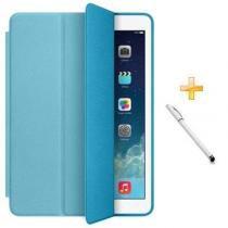 Capa iPad Pro 9,7 Smart Case / Capa Traseira / Caneta Touch (Cor Azul) - BD Net Imports
