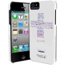 Capa iPhone 5/5S/SE Premium Wit Branco - Coldplay - ColdPlay