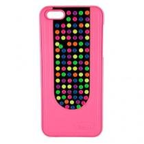 Capa Iphone 5C Colorida Rosa - Idea - Idea