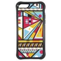 Capa Iphone 6 E 6S 4.7 Pc+Tpu Quadrados - Idea - Idea