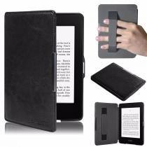 Capa Kindle 8a Geração WB  Auto Liga/Desliga - Hands Free Preta -