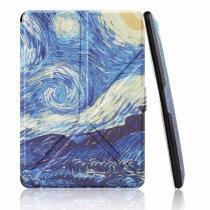 Capa Kindle 8a Geração WB Auto Liga/Desliga - Origami Van Gogh -