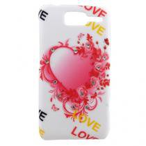Capa Motorola D1 Pc Heart Strass Love - Idea - Idea
