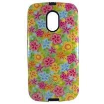 Capa Motorola Moto G2 Tpu Flores - Idea - Idea