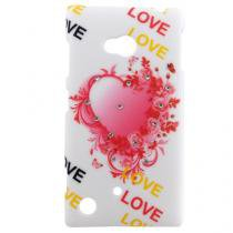 Capa Nokia Lumia 720 Pc Heartr - Idea - Idea
