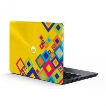 Capa Notebook Positivo  Linha Stilo XC / Stilo one XC  Squares - POSITIVO